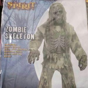 Zombie Skeleton Halloween costume medium. New